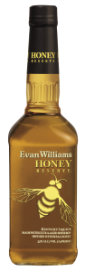 A bottle of Evan Williams Honey Reserve