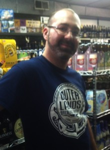 Matt Titmus from the Outer Lands Brewing Company