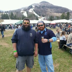 Paul and Craig of Long Beard Brewing
