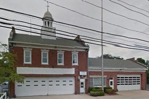 East 2nd St Firehouse in Riverhead, New York